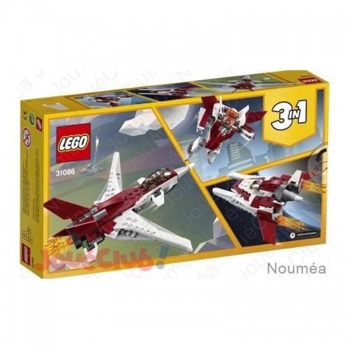 L AVION FUTURISTE LEGO 31086