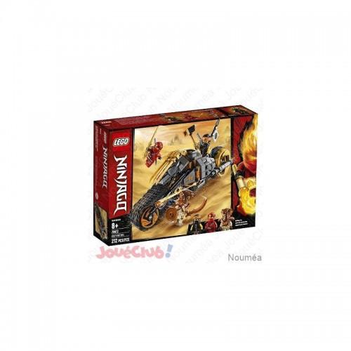 LA MOTO TOUT TERRAIN DE COLE LEGO 70672