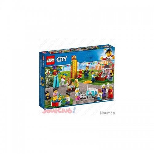 ENSEMBLE FIGURIEN LA FETE LEGO 60234