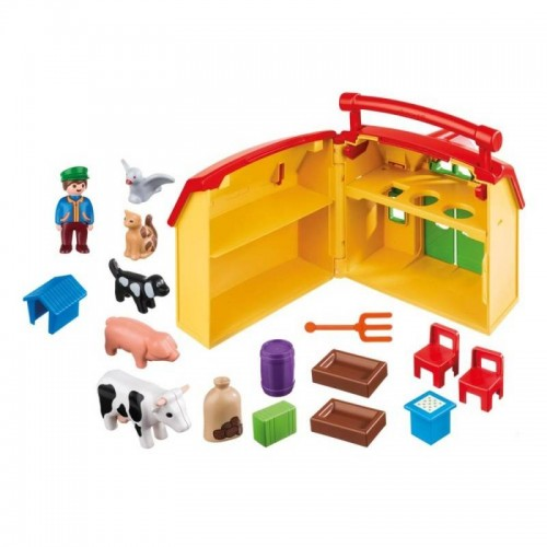 FERME TRANSPORTABLE PLAYMOBIL 6962