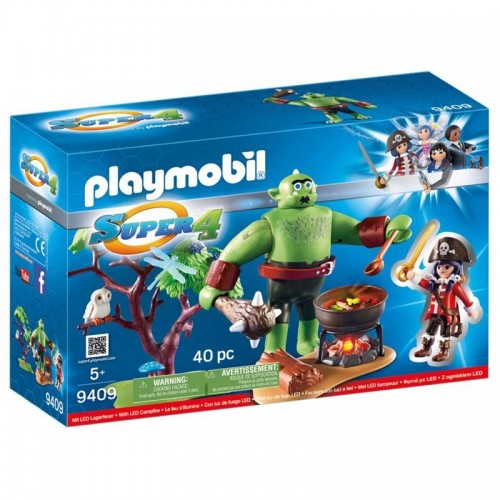 ORGE GEANT AVEC RUBY PLAYMOBIL 9409