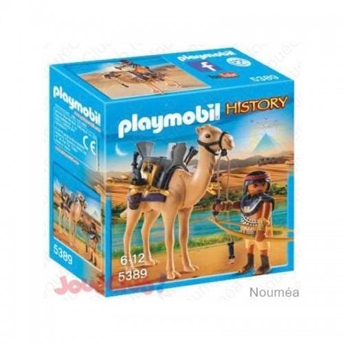 COMBATTANT EGYPTIEN AVEC DROMADAIRE PLAYMOBIL 5389