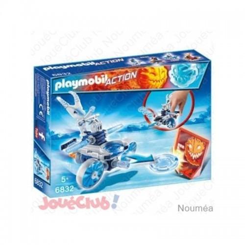 ROBOT DE GLACE AVEC LANCE DISQUE PLAYMOBIL 6832