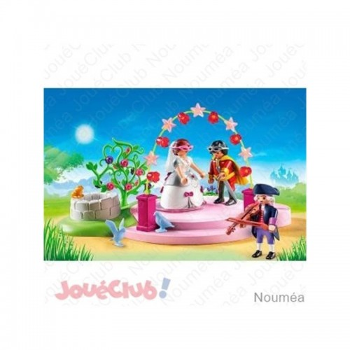 COUPLE PRINCIER MASQUE PLAYMOBIL 6853