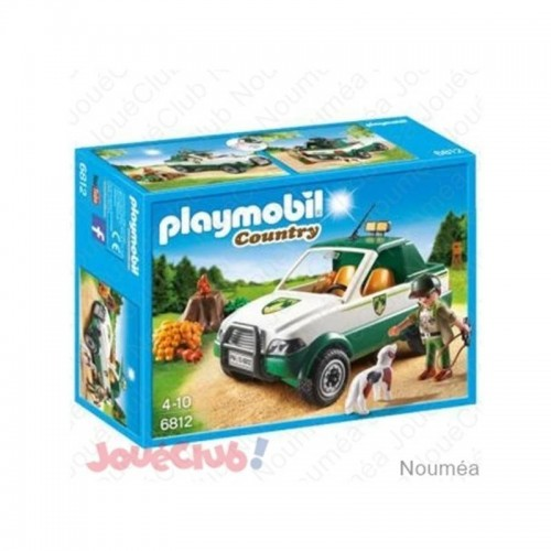 GARDE FORESTIER AVEC PICK UP PLAYMOBIL 6812