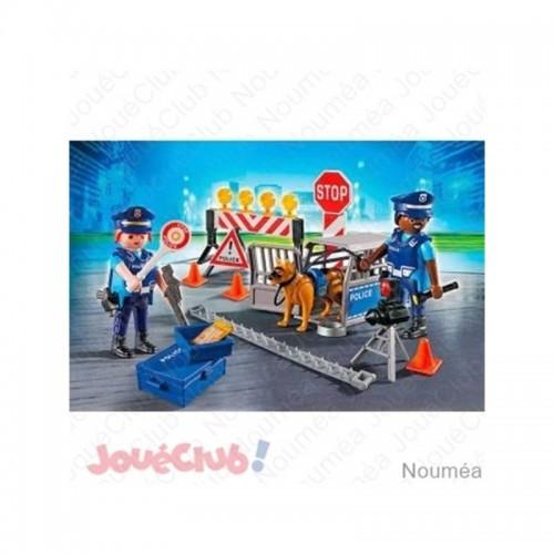 BARRAGE DE POLICE PLAYMOBIL 6924