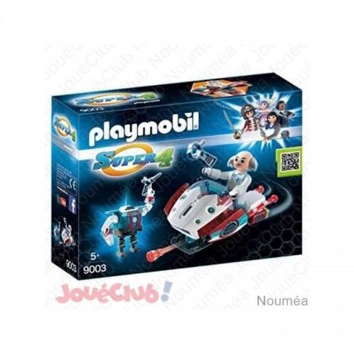 SKY JET ET DOCTEUR X PLAYMOBIL 9003