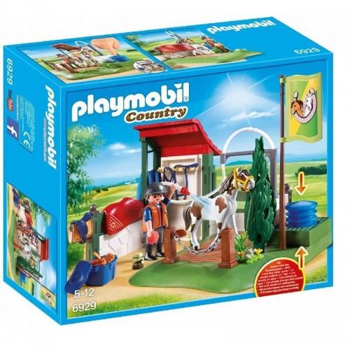 BOX DE LAVAGE POUR CHEVAUX PLAYMOBIL 6929