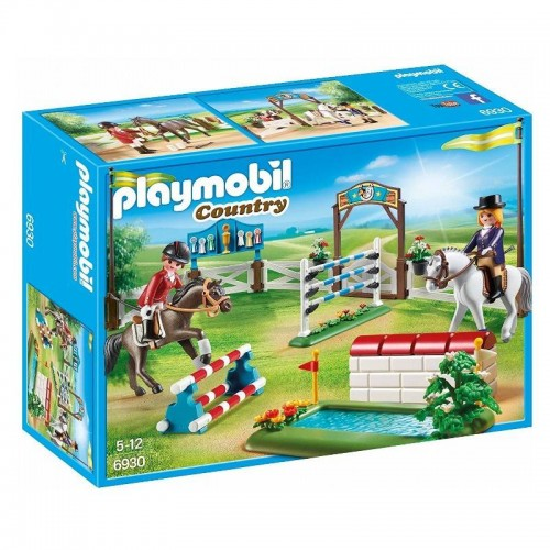 PARCOURS DOBSTACLE PLAYMOBIL 6930