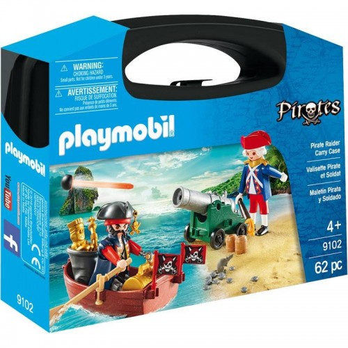 VALISETTE PIRATE ET SOLDAT PLAYMOBIL 9102