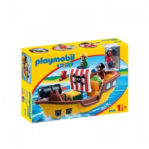 BATEAU DE PIRATES PLAYMOBIL 9118