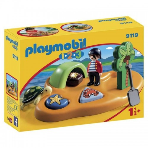 ILE DE PIRATE PLAYMOBIL 9119