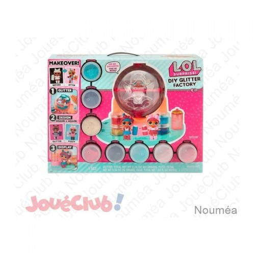 LOL SUPRISE DIY GLITTER FACTORY GP TOYS LLU68000
