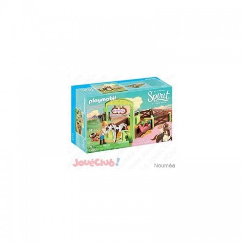 ABIGAELLE ET BOOMERANG AVEC BOX PLAYMOBIL 9480