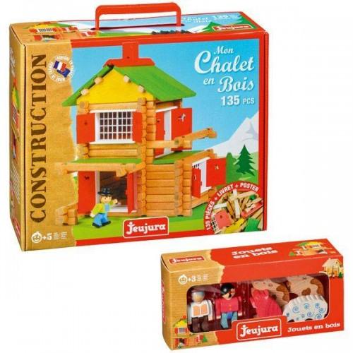 CHALET 135P + ANIMAUX JEUJURA 8009