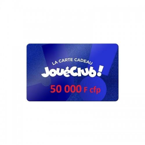 CHEQUE CADEAU INTERNET 50 000