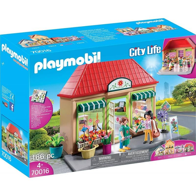 MAGASIN DE FLEURS PLAYMOBIL 70016