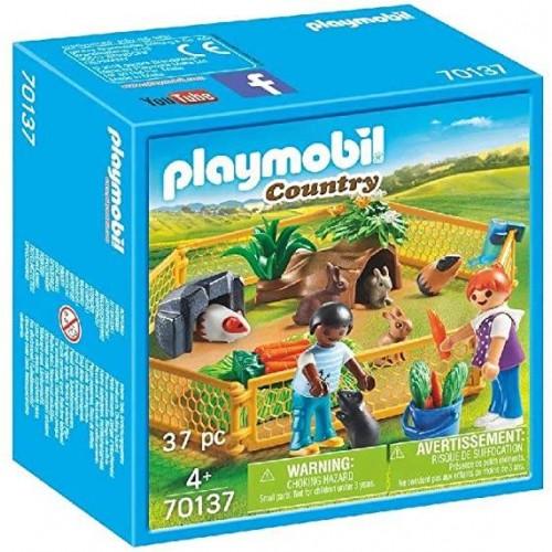 ENFANTS AVEC PETITS ANIMAUX PLAYMOBIL 70137
