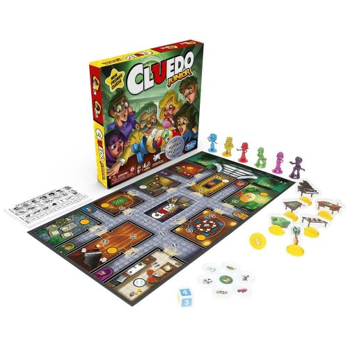 CLUEDO JUNIOR HASBRO C12934470