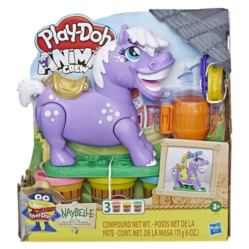 PLAYDOH ANIMALS PONEY DEJANTE HASBRO E67265