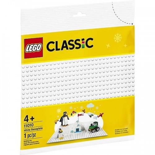 LA PLAQUE DE BASE BLANCHE LEGO 11010