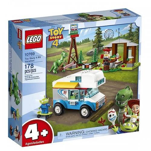 LES VACANCES EN CAMPING CAR TOY STORY 4 LEGO 10769