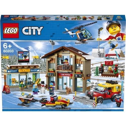 LA STATION DE SKI LEGO 60203