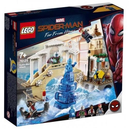 SPIDER MAN ET L ATTAQUE D HYDRO MAN LEGO 76129