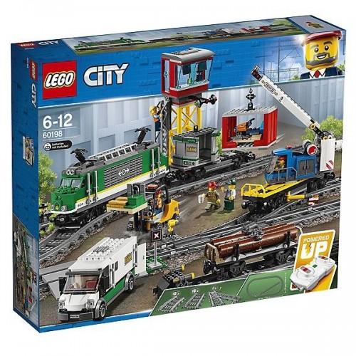 LE TRAIN DE MARCHANDISE TELECOMMANDE LEGO 60198