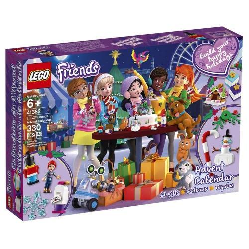 LE CALENDRIER DE L AVENT FRIENDS LEGO 41382