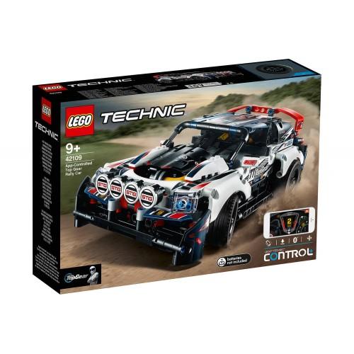 LA VOITURE DE RALLYE CONTROLEE LEGO 42109
