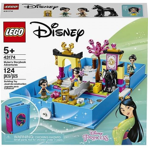 LES AVENTURES DE MULAN DANS LEGO 43174