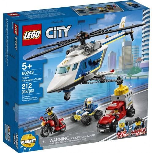 L ARRESTATION EN HELICOPTERE LEGO 60243