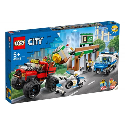LE CAMBRIOLAGE DE LA BANQUE LEGO 60245