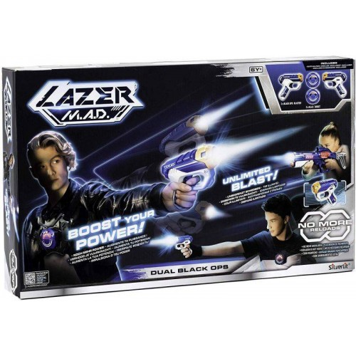 LAZER MAD DUAL BLACK OPS SILVERLIT 86869