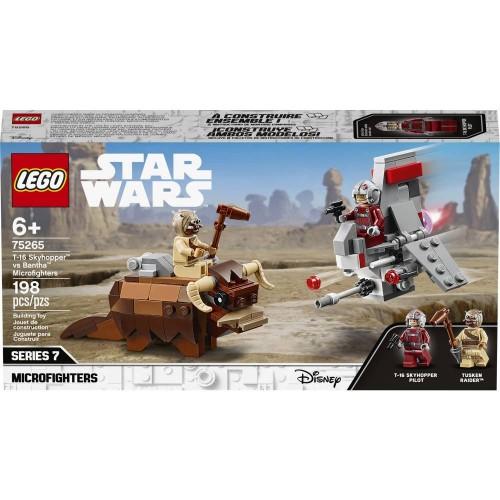 LE COMBAT DES MICROFIGHTERS LEGO 75265