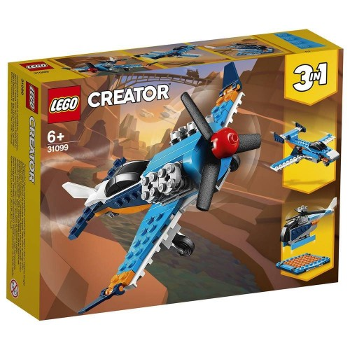 L AVION A HELICE LEGO 31099
