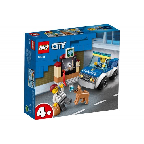 L UNITE CYNOPHILE DE LA POLICE LEGO 60241