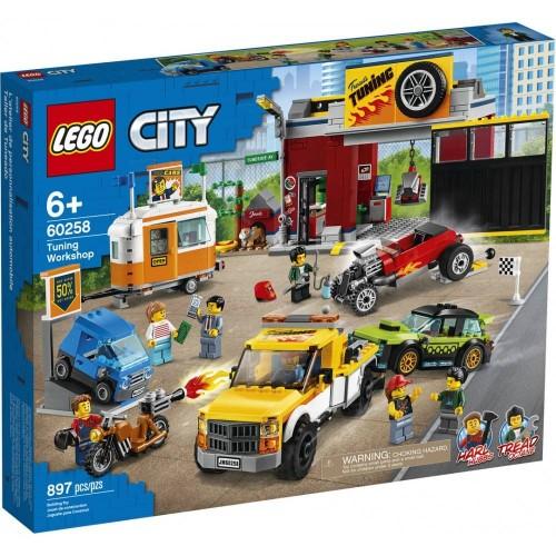 L ATELIER DE TUNING LEGO 60258