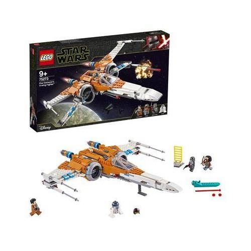 LE CHASSEUR X WING DE POE DAMERON LEGO 75273