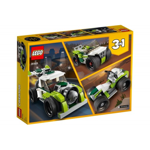 LE CAMION FUSEE LEGO 31103