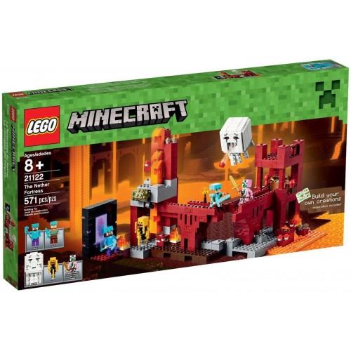LA FORTERESSE DU NETHER LEGO 21122