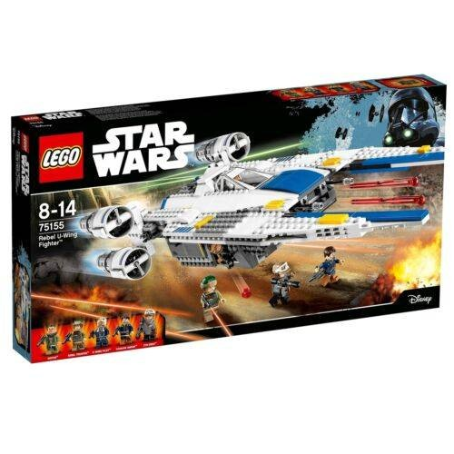 REBEL U WING FIGHTER LEGO 75155
