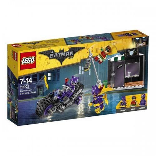 LA POURSUITE EN CATMOTO DE CATWOMAN LEGO 70902