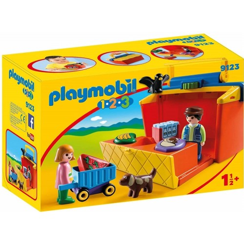 ETAL DE MARCHE TRANSPORTABLE PLAYMOBIL 9123