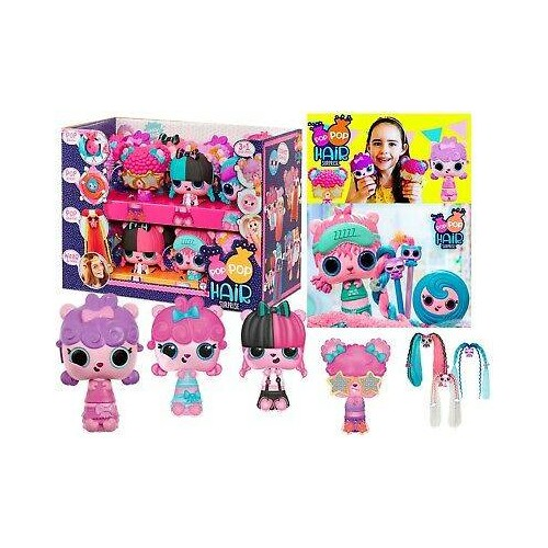 POP POP HAIR SURPRISE 3 EN 1 GP TOYS PPA0100G