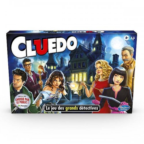 CLUEDO THE CLASSIC MYSTERY GAME HASBRO 387125960