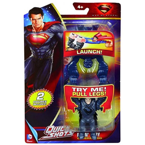 SUPERMAN FIGURINE QUICKSHOT MATTEL Y0784