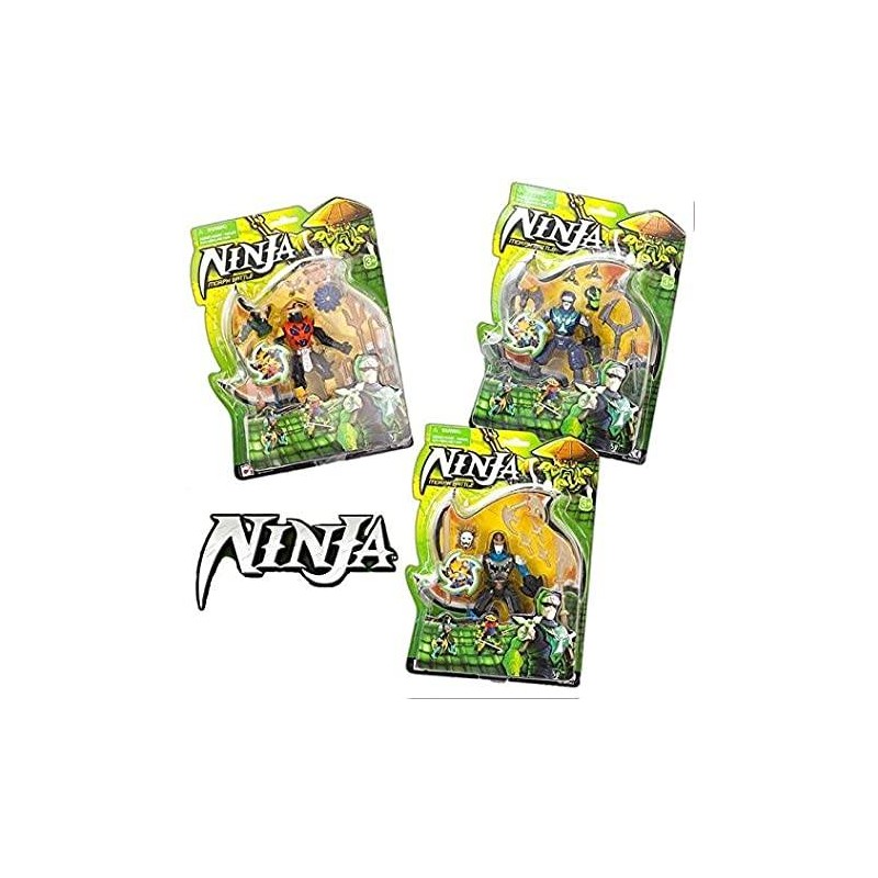 NINJA FIGURINE ASST SIDJ 385063