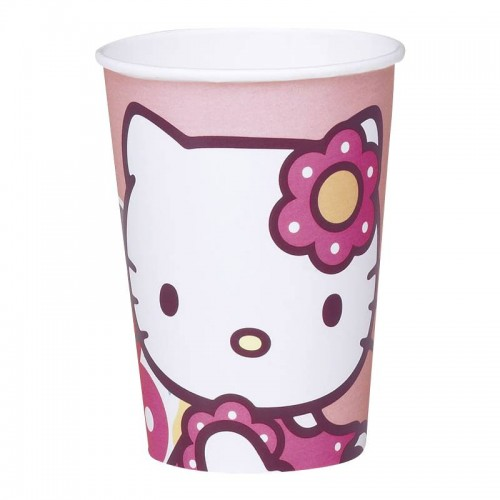 10 GOBLETS HELLO KITTY BAMBOO 118122 SIDJ